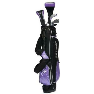 NEW NEW Lady Dunlop Tour Purple 13 Piece Complete Golf Set Irons, Driver, Bag Putter Condtion: New. Missing 4 Pieces....