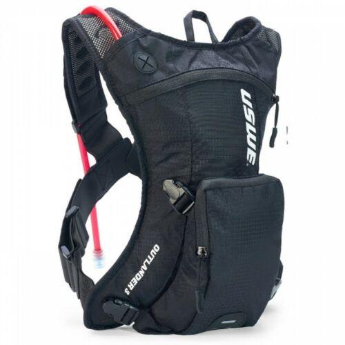 USWE Outlander 3 Black Hydration Pack -Drinks Backpack Hiking Walking