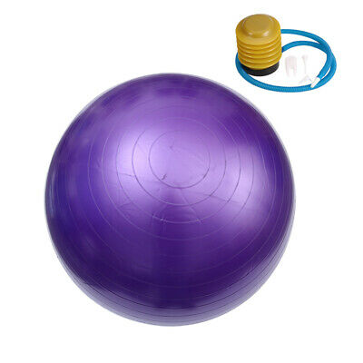 85cm Exercise Gym Yoga Swiss Ball Anti Burst Fitness Pregnancy Stability W/Pump