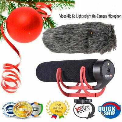 VideoMic GO Directional Microphone On-Camera Mic for Canon Nikon Sony DSLR R8Z9