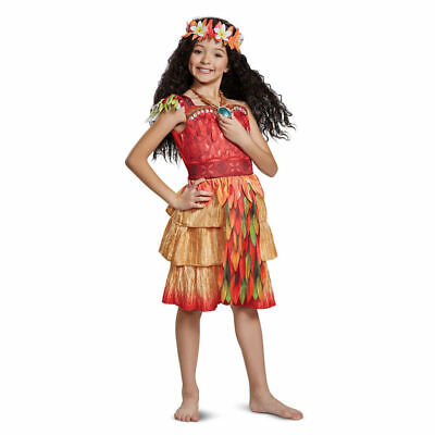 Disguise Moana Epilogue Deluxe Child Costume, Red, X-Small/(3T-4T) NEW](Costume Disguise)