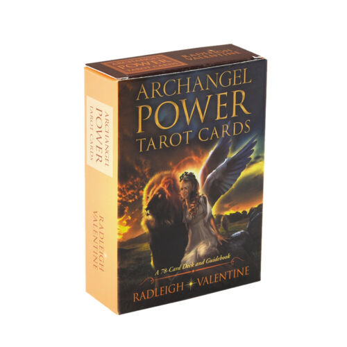 Archangel Power Tarot Cards Deck Online Guidebook for Highly Sensitive People 78