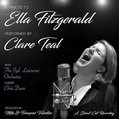 CLARE TEAL | A TRIBUTE TO ELLA FITZGERALD | DIRECT CUT 180G...
