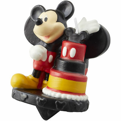 Wilton MICKEY MOUSE ROADSTER BIRTHDAY CANDLE Disney Cake Party Theme Supplies