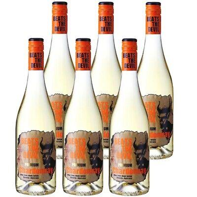 Beats the Devil Premium Chardonnay Weisswein trocken 13,5% vol 6 x 75cl