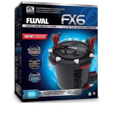 Fluval FX6 Außenfilter für Aquarien bis 1500L, 3500 l/h, 41 Watt,