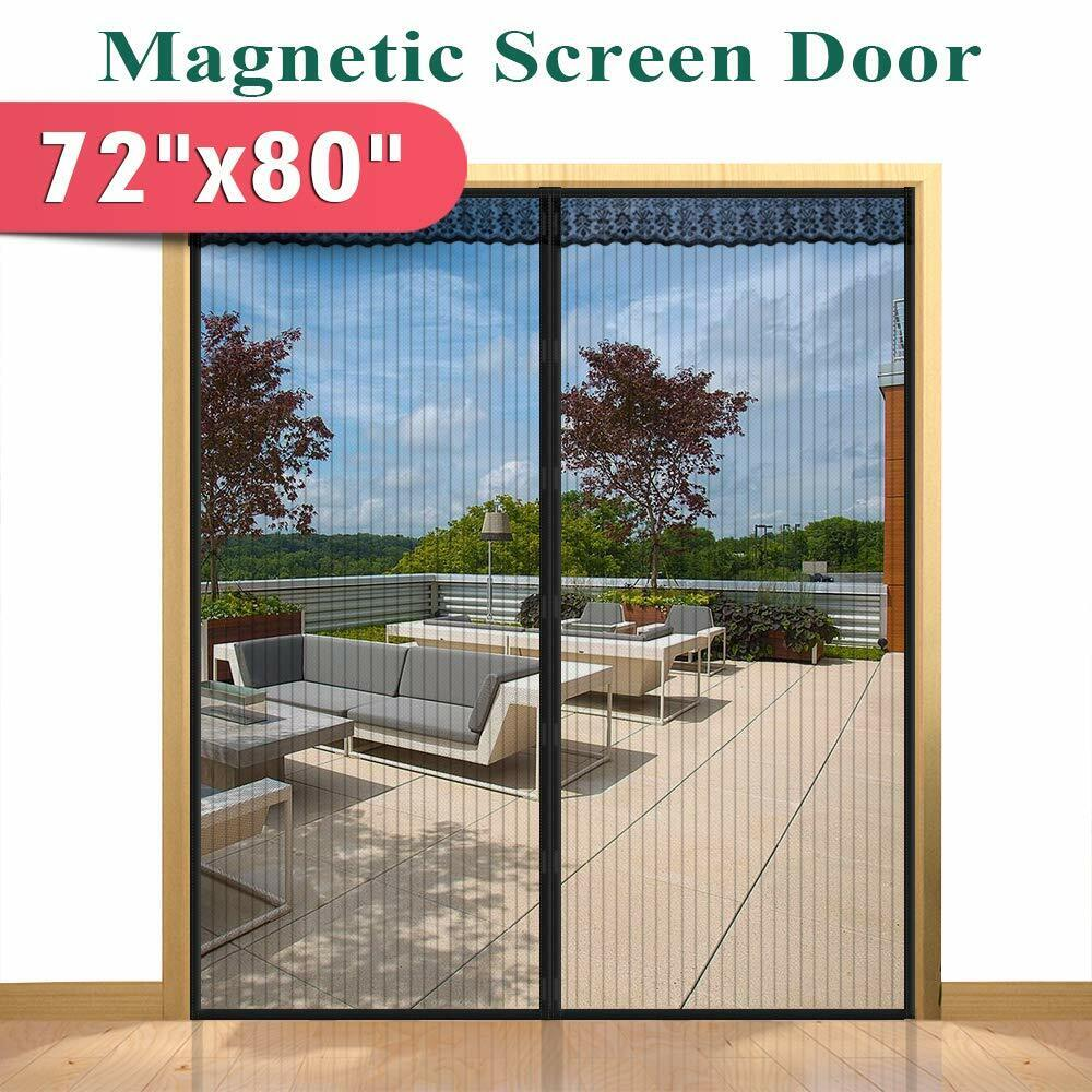 Screen Doors With Magnets For Sliding French Door Bug Screen