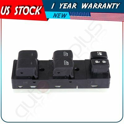 - Master Power Window Switch Driver Side Front Left for 2007-12 Nissan Altima