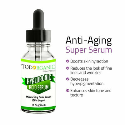 The Best Hyaluronic Acid Serum for Skin,100% Puro - Alta Calidad by
