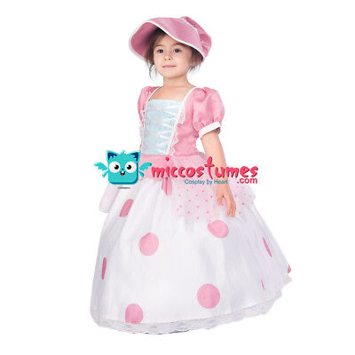 Kids Toy Story Little Bo Peep Cosplay Dress Costume - Little Bo Peep Costume Toy Story Womens