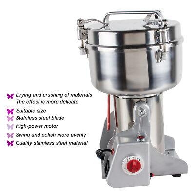 1000g Safty Ultrafine Medicine Grinder Electric Herb Grain Grinding Machine 110V