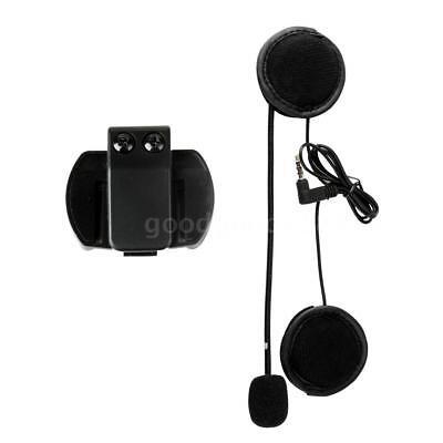 VNETPHONE V4 V6 Helmet Intercom Accessories Microphone Speaker & Clip O1Z3
