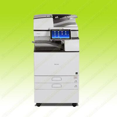 Ricoh Aficio Mp 4055 Laser Mono Bw Printer Copier Scan Duplex 40ppm A3 Mfp 5055