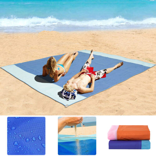 large sandfree beach blanket waterproof outdoor camping