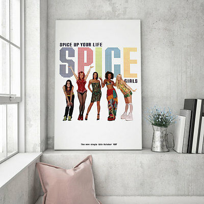 "Huge original Spice Girls promo poster – Spice up your Life - 60"" x 40"""