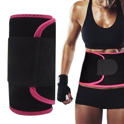 Singular point Waist Trimmer, Best Abdominal Trainer Adjustable Sweat Belt AB
