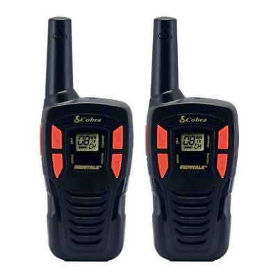Cobra CXT195 16 Mile 22 Channel FRS/ GMRS Walkie Talkie 2 Way Radios Pair [LN]™