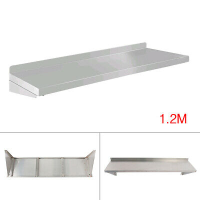 Stainless Steel Wall-mounted Rack 1.2m Commercial Kitchen Kitchen Shelf Rack
