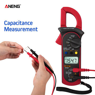 Aneng St201 Digital Multimeter Amper Clamp Meter Voltage Tester Current Safety