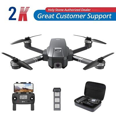 Sacred Stone HS720 Brushless GPS Drone with 2K Camera 5G Wifi FPV Quadcopter +Case