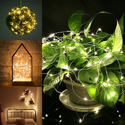 60-120 LED Firefly Warm White Fairy String Light Xmas Holiday Wedding Party Deco - Firefly Holiday