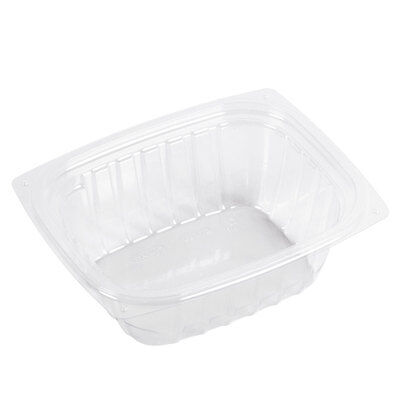 Dart C32DER, 32 Oz ClearPac Clear Rectangular Plastic Container (Lids are sold s Dart Container Clearpac