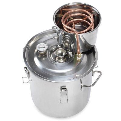 Wasserdestille 8L Edelstahl Aromaöl ätherische öle  Kupfer destilliertes Wasser (L ätherisches öl)