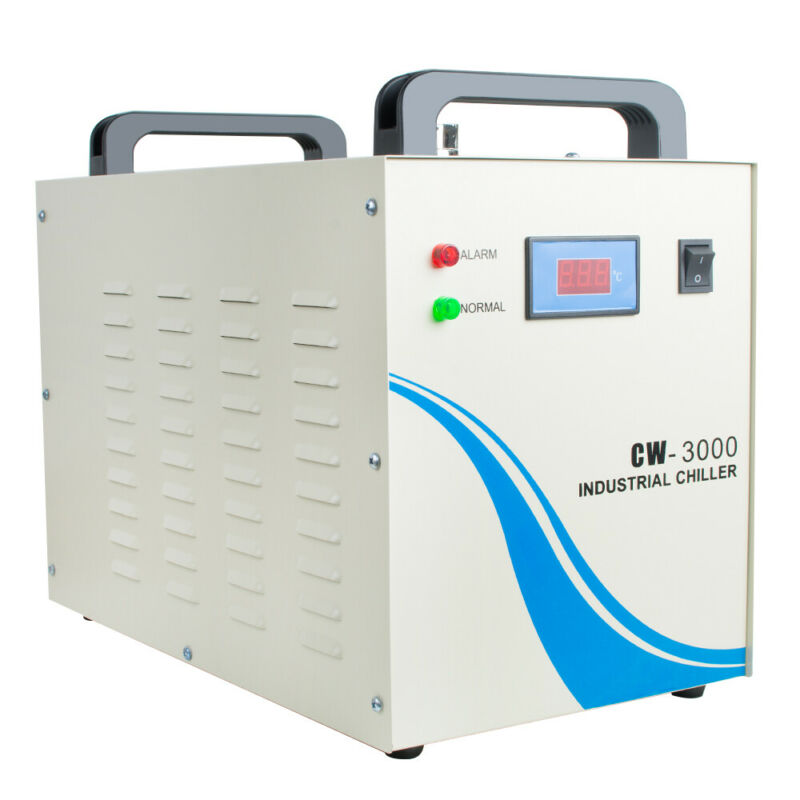 Industrial Water Chiller CW-3000 for 110V CNC Laser Engravering Machine 60Hz USA
