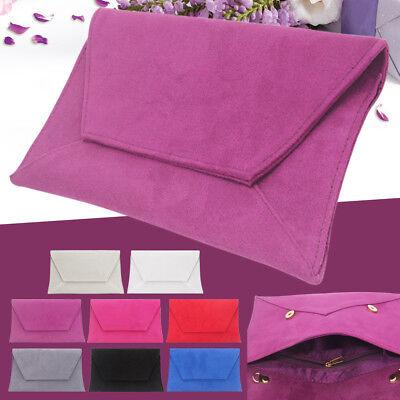 Women Day Dinner Purse Envelope Shoulder Handbag Clutch Evening Wedding Bags
