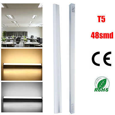 1x T5 9W SMD LED Fluorescent Tube Light Bar Lamp Replacement Fixture Warm White for sale  USA