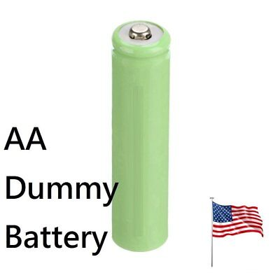 AA 2A Placeholder Dummy Battery Batteries Shell for Digital Camera US Ship