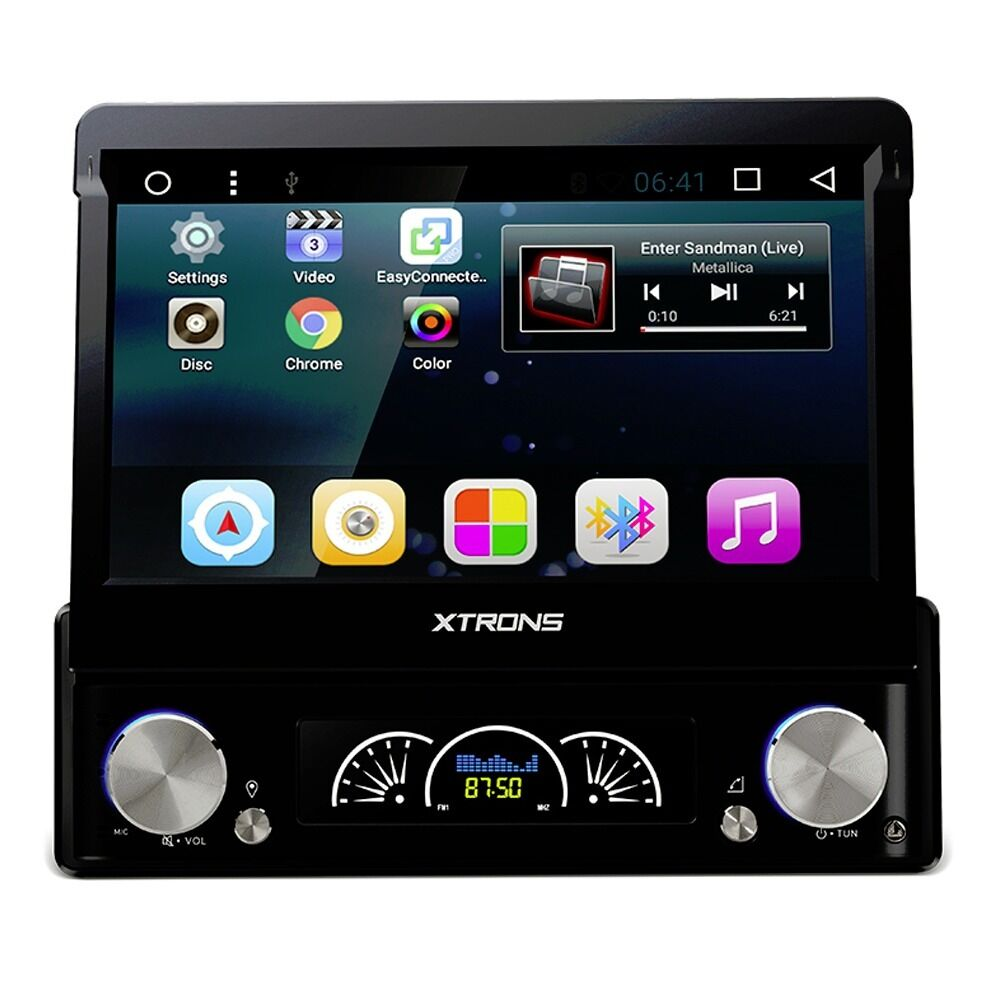 7 Single Din Flip Out Hd Android 60 Gps Bluetooth Car Stereo With Broadcast Wiring Jobs London Radio Dvd Usb Sd Aux