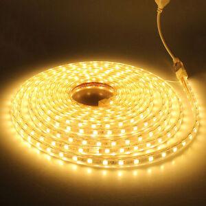 SMD3014-LUZ-CINTA-TIRA-FLEXIBLE-LED-AC220V-60-LED-M-IMPERMEABLE-CALIDO