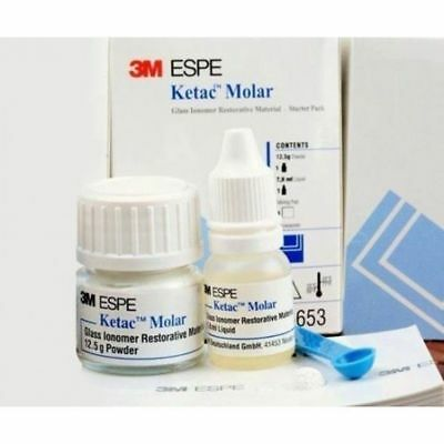 Dental 3m Espe Ketac Molar Glass Ionomer Restorative Filling Material