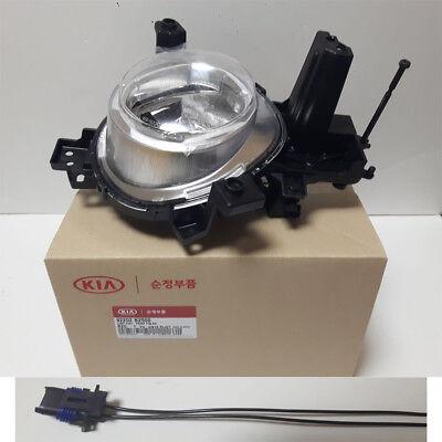 Genuine OEM Fog Light Lamp RH 92202B2500 + Connector for 2017-2018 KIA Soul