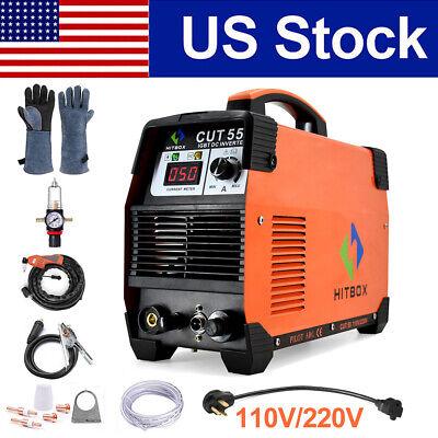 Hitbox Plasma Cutters Pilot Arc Cutter Cut55 Dc Inverter Cutting Machine 11022v