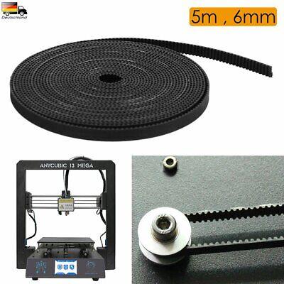 5M GT2 Zahnriemen Gürtel Breit 6mm Glasfaser Belt für 3D Drucker Prusa