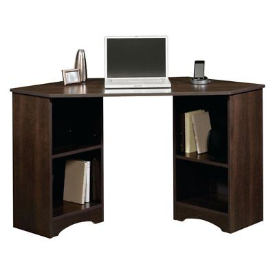Sauder Beginnings Corner Desk - Cinnamon, Cherry