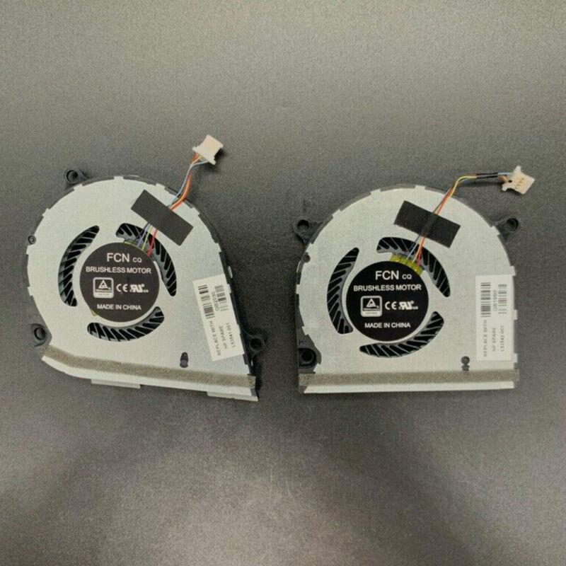CPU+GPU Laptop Cooling Fan For HP ENVY X360 15-DS 15-DR L53542-001 L53541-001