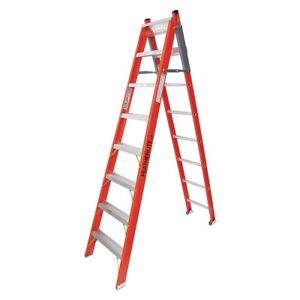 Featherlite 8' Fiberglass Multi-Position Ladder