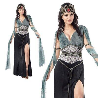 Medusa Kostüm Erwachsene Damen Griechische Serpent Sirene Mythisch - Griechisch Sexy Kostüm