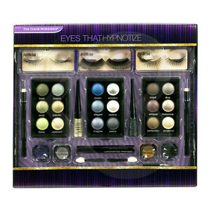 The Color Workshop Eyes That Hypnotise Gift Set MakeUp Cosmetic False Lashes etc