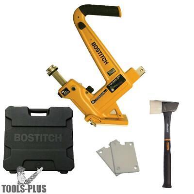 Bostitch Mfn201 Manual Hardwood Flooring Cleat Nailer Kit 1258 Wood New