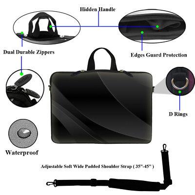 """как выглядит Сумка или чехол для ноутбука 15.6"""" Laptop Computer Sleeve Case Bag w Hidden Handle & Shoulder Strap 1602 фото"""
