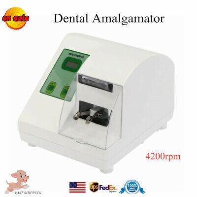 Dental Amalgamator Amalgam Capsule Blender Mixer Blending Mixing Blend 4200rpm