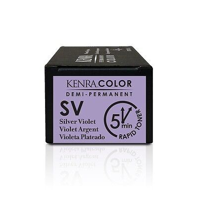 Kenra Color Metallic Collection Demi–Permanent Hair Colour Rapid Toner SV 58.2g