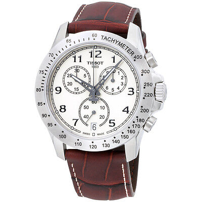 Tissot T-Sport V8 Quartz Movement Beige Dial Men's Watch T1064171626200