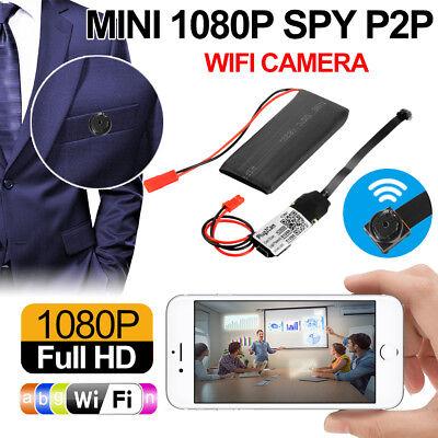 Mini Wifi IP SD Spy Cam Wireless Sorveglianza Video Camera IOS Android AC1493 usato  Italia
