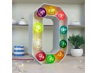 Light up Letter sign | Circus light | Marquee light for events, wedding, reception shop sign