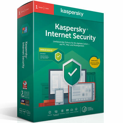 Kaspersky Internet Security 2020 (1 Gerät) for sale  Shipping to Nigeria